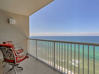 Photo for Oceanfront Panama City Beach Resort Condo w/Lanai!