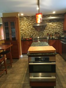 Newly renovated main kitchen