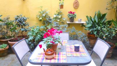 Photo for FLORENCE HISTORIC CENTER, APARTMENT WITH PRIVATE COURTYAR, WI-FI