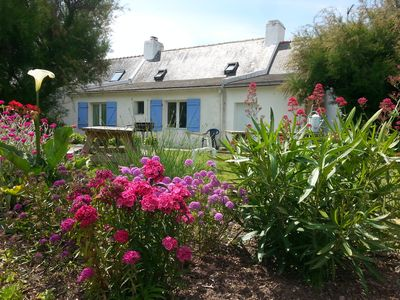 Photo for Comfortable house in Belle-Ile with bicycles available and Car rental