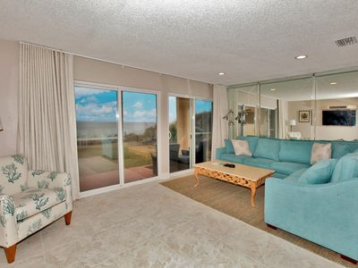 Photo for 30A Direct Beachfront 30A, Amazing Beach & Gulf Views, Pool & More!