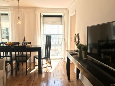 Photo for Duplex apartment in Lisbon's historic center with air conditioning and WiFi