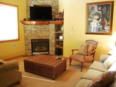 Photo for Big White Snowy Creek 3 Bedroom + Loft with Hot Tub