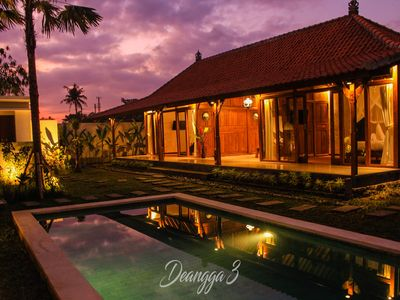 Photo for DeAngga villa, my villa is located in village just 10 minutes to ubud center.