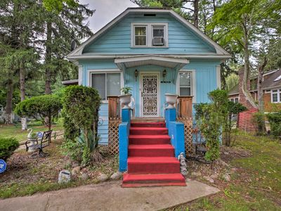 Photo for NEW! Charming Union Pier Home-1 Block From Beach!