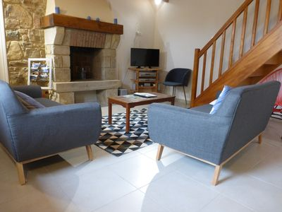 Photo for Gite 6 pers.  Quiet in Pleubian - Ideal to radiate in the region