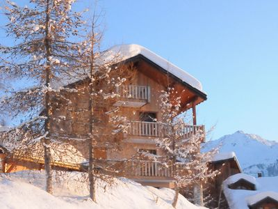 Photo for Apartment at the foot of the slopes with garage in 2 floors apartment complex