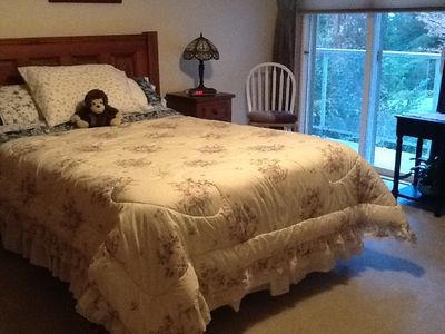 Comfortable Double in the Master bedroom
