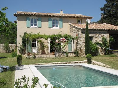 Photo for Puget Sur Durance: Very charming house with character in Luberon