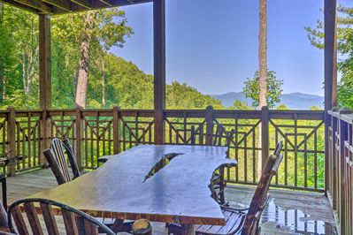 Get away to the Blue Ridge Mountains to stay in Burnsville!