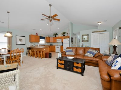Photo for Beautiful 3 BR 2 BA Home in Ocean City with a Huge Screened Porch and a Pool!