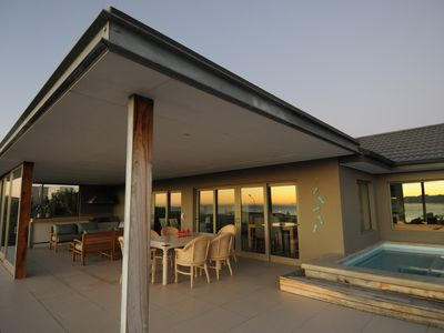 Photo for Designed for luxury and to maximize the spectacular ocean and mountain views.