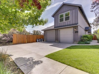 Photo for NEW LISTING! Entire duplex w/balcony, patio & grills-dogs OK, 1 mile to downtown