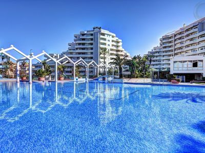 Photo for Free from July 1 to July 8, Benal Beach, studio 40m2, wifi,