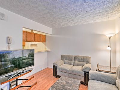 Photo for NEW! Anchorage Condo w/Fireplace - 1.6 Mi. to UAA!