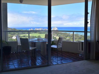 Photo for One bedroom BEST ocean view condo in Waikiki!