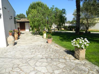 Photo for House in the center of Vignacastrisi with Air conditioning, Parking, Garden (127729)