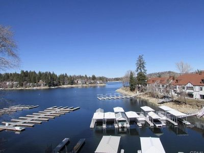 Photo for Village Lakeview Retreat - Beautiful view of the lake just steps to the Village