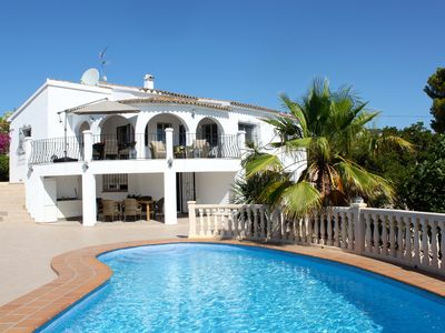 Photo for Luxury Detached Villa With Large Heated Pool And Beautiful views over Moraira