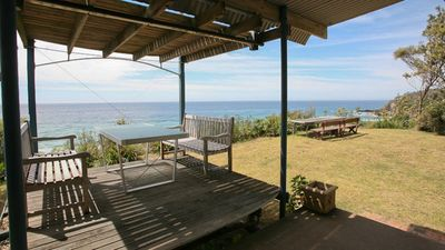 Photo for Ocean Lookout: Magnificent panoramic ocean views with private beach stairway -Bun69