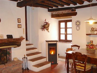 Photo for APARTMENT IN A TRADITIONAL TUSCAN HOUSE OF CHARACTER CLOSE TO SEA &TOWNS OF ART