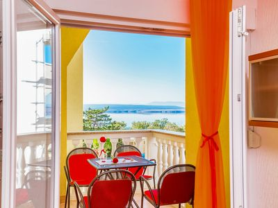 Photo for Apartment with sea view in Dramalj (jvo)