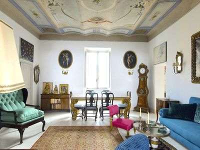 Photo for Overlooking Rome's Colosseum, in the Monti Area of Rome, a Splendid Art-filled Apartment, 2 Bedrooms