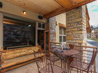 Photo for Charming Ski Chalet. Enjoy Live Music from the Deck, Walk to Dinning & Shops, Enjoy Stunning Views.