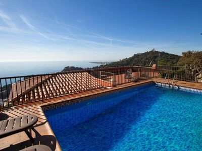 Photo for Catalunya Casas: Modern Villa in Blanes for 12 guests, with views of the Sea!