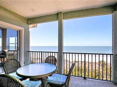 Photo for Gulfside Manor 3 Penthouse Sleeps 8 3 Bedroom Gulf Front Pool WIFI Spa NEW IRB 2 Parking Spaces