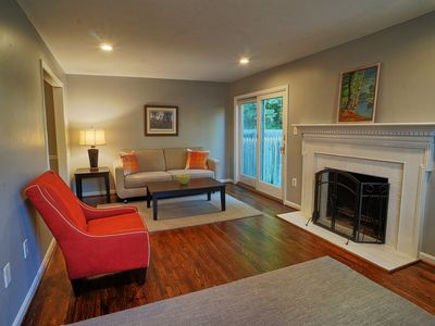 Photo for NEW LISTING - Renovated End-Unit Townhome 20 Min to DC / 15 Min to Airport (DCA)