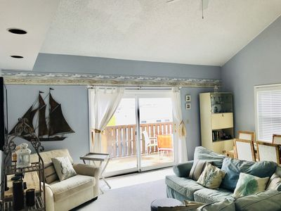 Photo for Charming Bayside Condo w/Sunset Views-walk 2 beach
