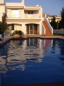 Photo for Lovable Saronida Seafront Luxury Rental with Pool near Cape Sounion