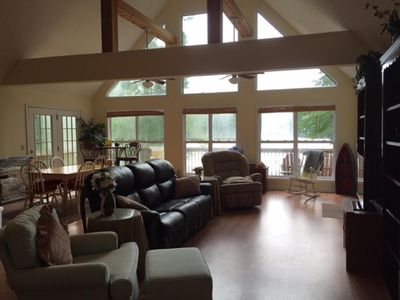 Photo for WATERFRONT LAKE HOUSE!!! $125 P/N SUMMER SPECIAL!