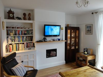 TV, music and reading room