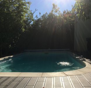 Photo for 100 m2 in a spacious and sunny quiet house with pool