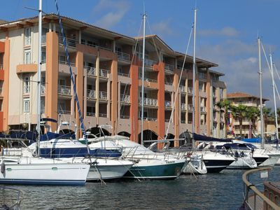 Photo for 1BR Apartment Vacation Rental in Port Fréjus