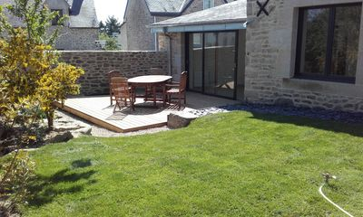 Photo for village house with enclosed garden