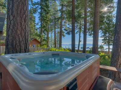 Evans - Stay By the Lake! West Shore 4 BR w/ Brand NEW Hot Tub