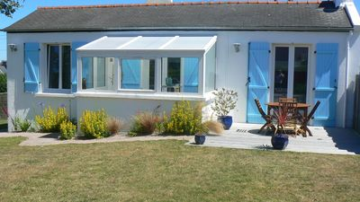 Photo for SEA VIEW RENTAL, 50m FROM THE BEACH - ARGENTON