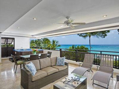 Photo for CORAL COVE 4 BARBADOS - LUXURY BEACH FRONT CONDO ON ONE OF BARBADOS'S BEST BEACHES