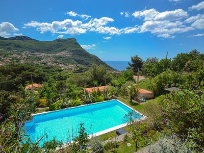Photo for 6 bedroom Villa, sleeps 11 with Pool, Air Con, FREE WiFi and Walk to Shops