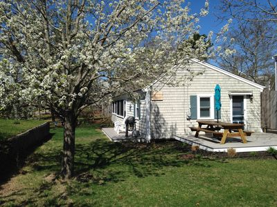Photo for Steps to Cooks Brook Beach! A/C, Heat, Wifi, Outdoor Shower, Gas Grill