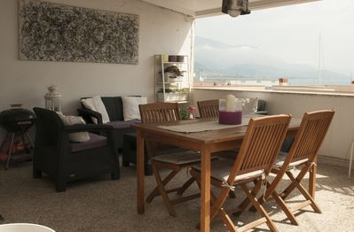 At The Number Of The Eleven La Terrazza Apartment Gaeta