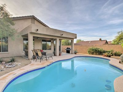 Photo for Scottsdale Home - Mtn Views, Pool, Near Westworld!