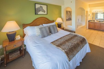 Master Bedroom #1 - King size bed with pillowtop mattress!