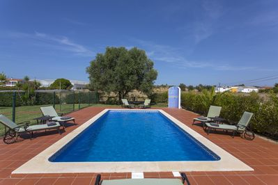 Enjoy the tranquillity of the local area whilst at the private pool