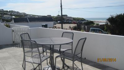 Photo for End of Terrace Chalet Overlooking Polzeath Beach