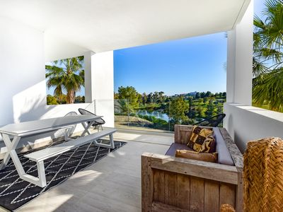Photo for Atalaya Golf club apartment, Benahavis, Marbella