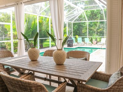 Photo for Luxury 4br House With huge poolarea, Near Beaches.